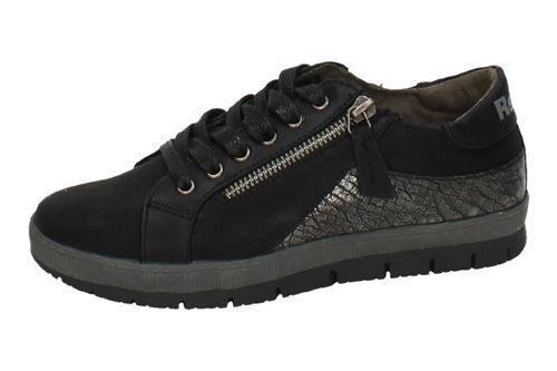 64016 ZAPATILLAS CASUAL color NEGRO