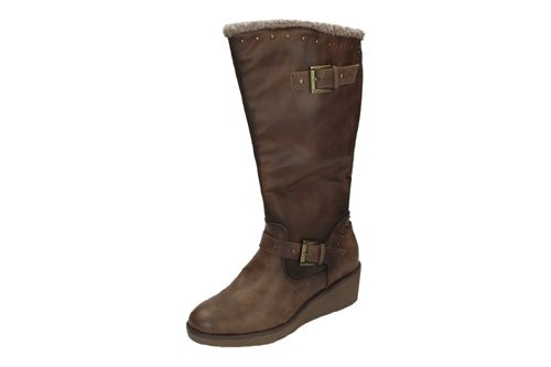 69200 BOTAS CUÑA REFRESH color TAUPE