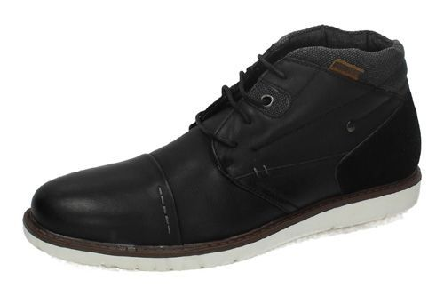 84369 BOTÍN BLUCHER color NEGRO
