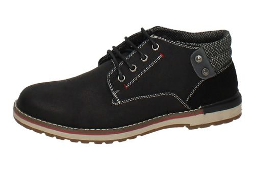 63985 BOTÍN ZAPATO BLUCHER color NEGRO