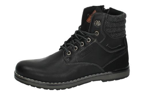 48152 BOTINES CASUAL color NEGRO