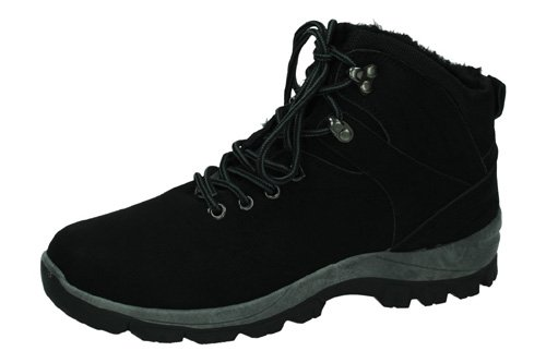 YD8188 BOTINES POLIPIEL color NEGRO