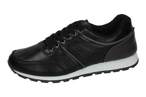 9-J930A-12 DEPORTIVAS CASUAL color NEGRO