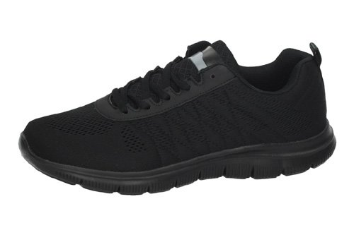 9-6505A-12 DEPORTIVA COMFORT color NEGRO