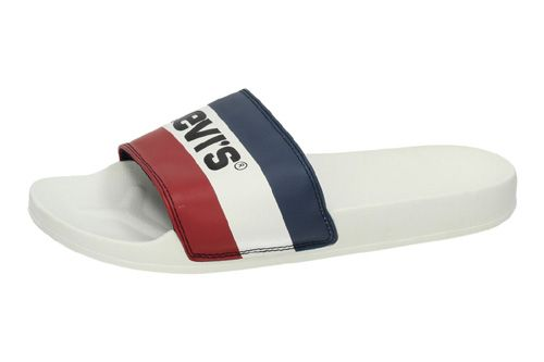 38104-0085 CHANCLAS TRICOLOR color BLANCO
