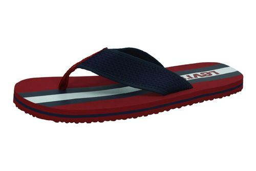 38104-0116 CHANCLAS DEDO LEVIS color ROJO