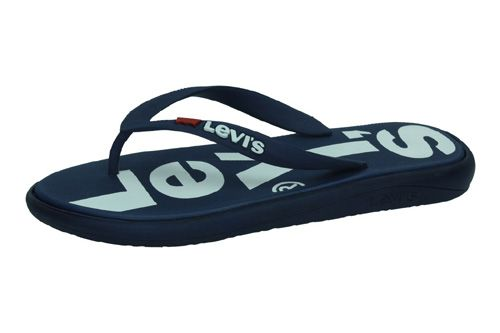 38104-0121 CHANCLAS DEDO LEVIS color MARINO