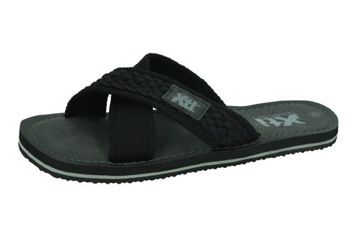 48700 CHANCLAS CRUZADAS color NEGRO