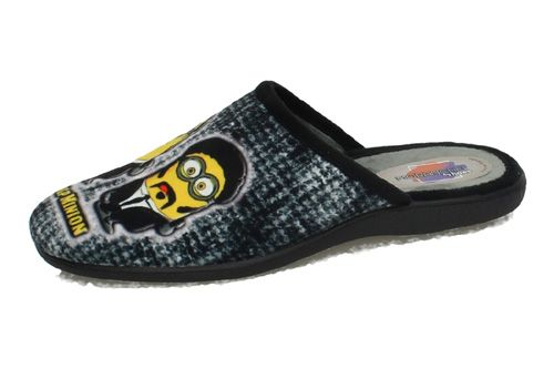 9058 CHINELAS MINIONS color NEGRO