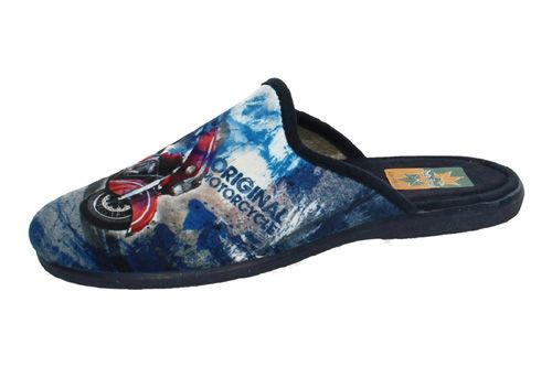 961 CHINELAS MOTO color AZUL