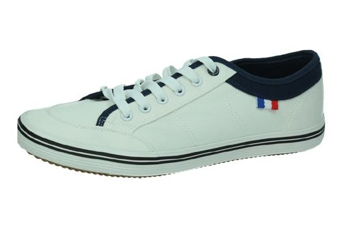 9-A1812A-12 ZAPATILLAS LONA color BLANCO