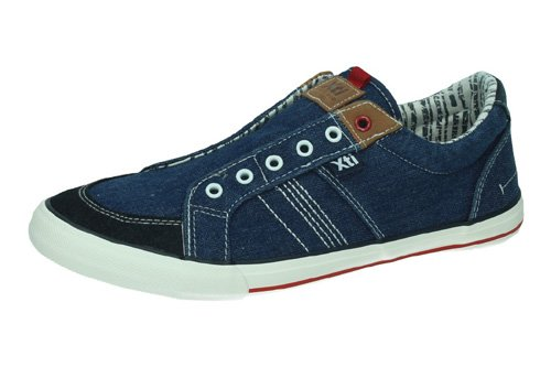 48741 ZAPATILLAS JEANS color MARINO