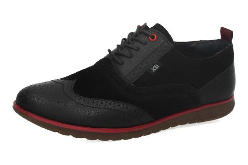 45692 ZAPATO BLUCHER PIEL color NEGRO