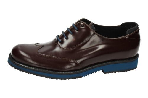 E-128 ZAPATOS BLUCHER color BURDEOS