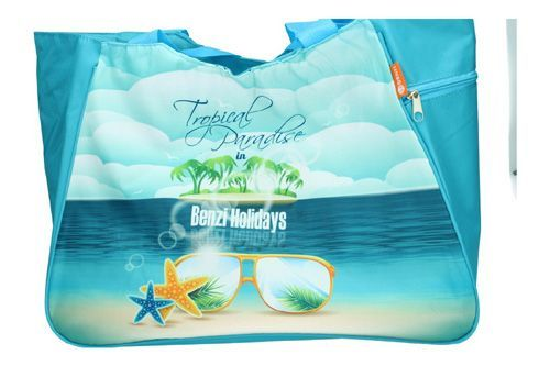 BZ-4862 BOLSA DE PLAYA color TURQUESA