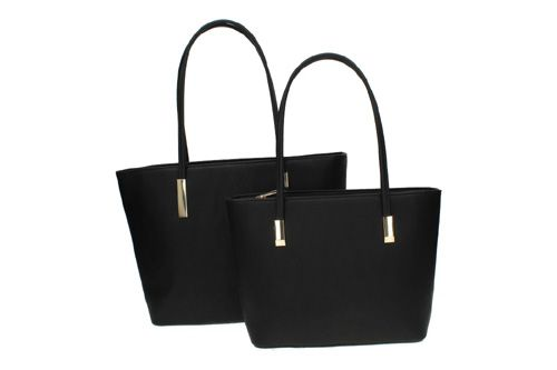 6701P PACK DE 2 BOLSOS color NEGRO
