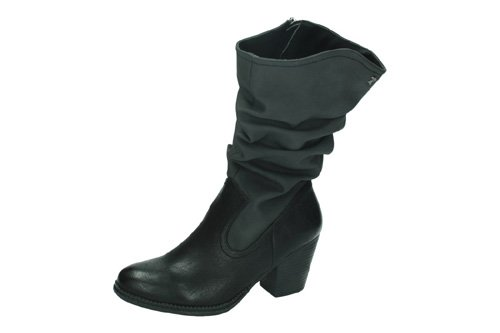 69303 BOTAS CUÑA REFRESH color NEGRO