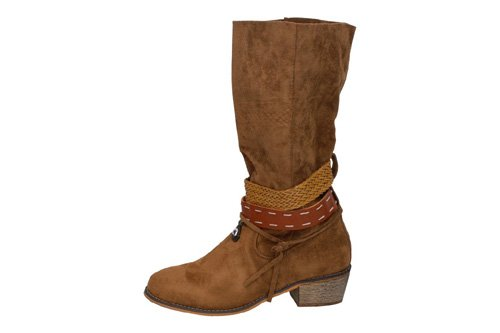 KM1808 BOTAS CAMPERAS color CAMEL