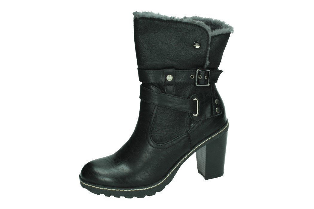 34466 BOTINES POLIPIEL color NEGRO