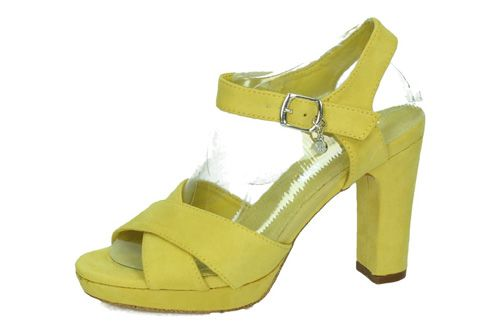 32035 TACONES XTI AMARILLO color AMARILLO