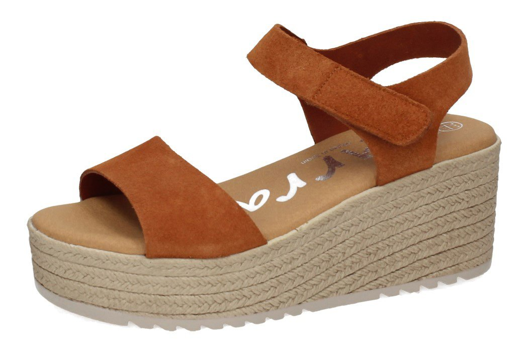 4367 SANDALIAS PLATAFORMA color ROBLE
