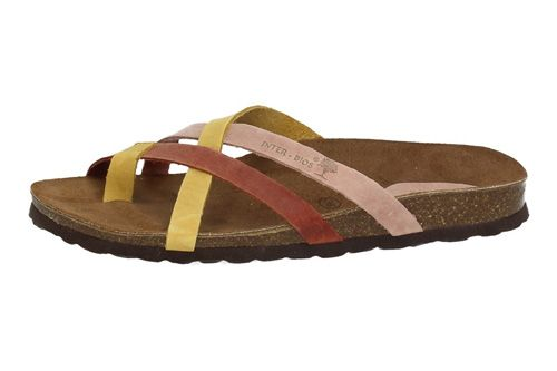 7113 CHANCLAS INTER-BIOS color MOSTAZA