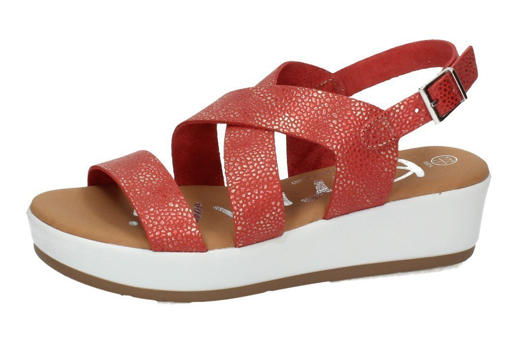 4333 SANDALIAS GREGAL color ROJO