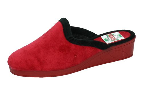 3004 ZAPATILLAS CHINELAS color ROJO