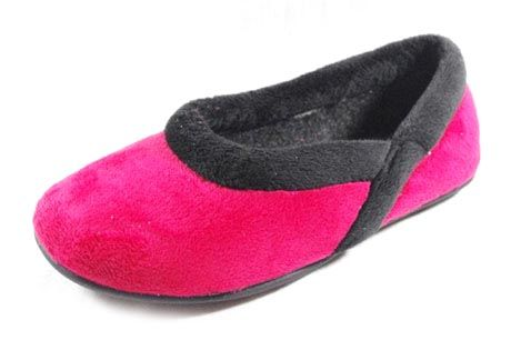 1357 CHINELAS SUAVES color ROJO