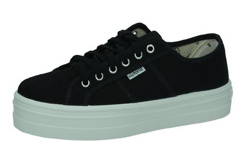 09200 ZAPATILLAS VICTORIA color NEGRO