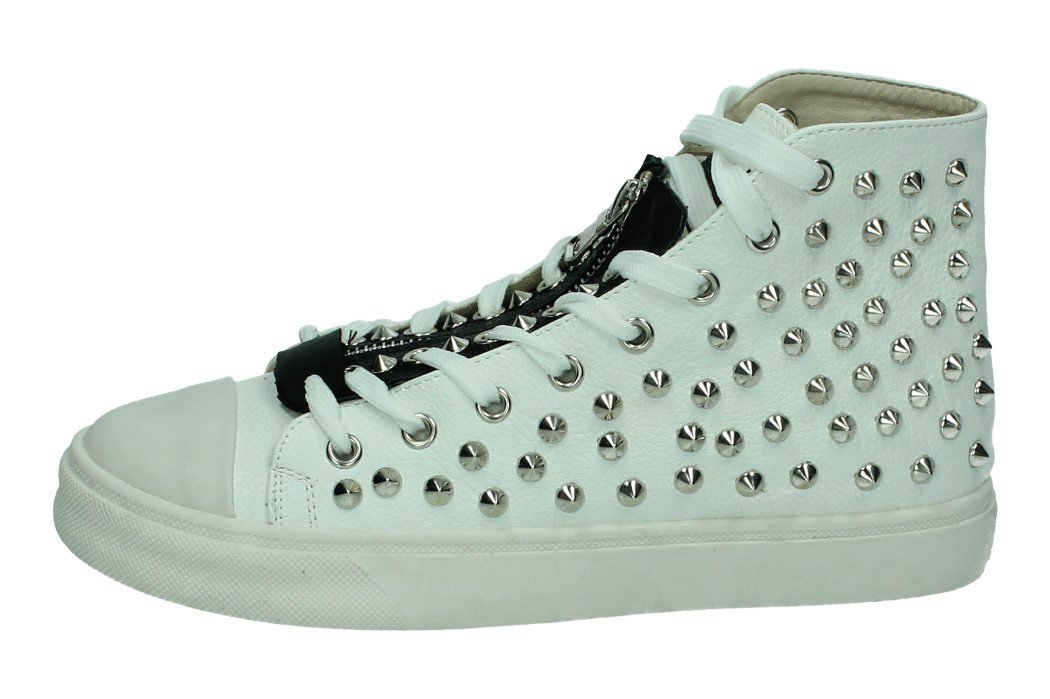 JH17-156A ZAPATILLAS TACHAS color BLANCO