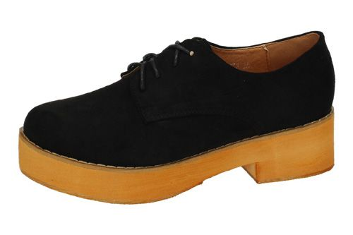 FM5273 ZAPATO BLUCHER FAMA color NEGRO
