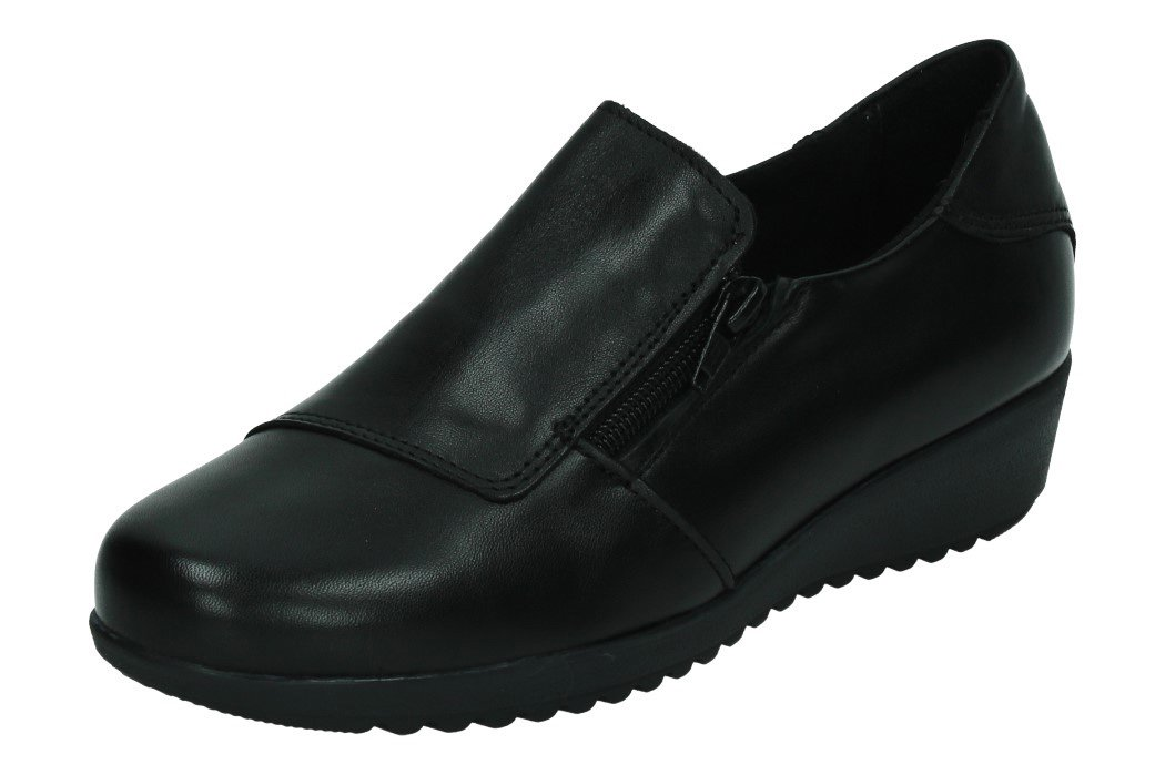21404/01 ZAPATOS COPETE color NEGRO