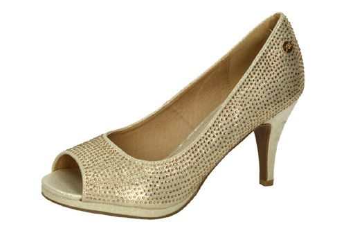 30126 TACONES METALIZADOS color ORO
