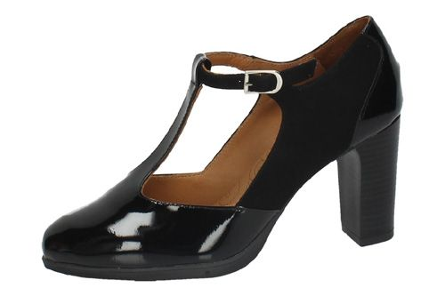 77/1173 TACONES PLANTA GEL color NEGRO