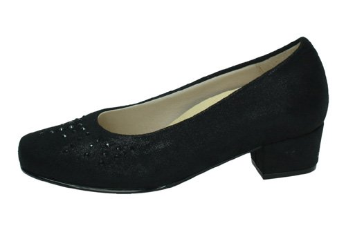 81174 ZAPATOS BRILLANTES color NEGRO