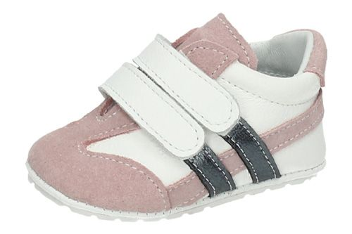 AL6581V ZAPATITOS PARA BEBÉ color BLANCO-ROSA
