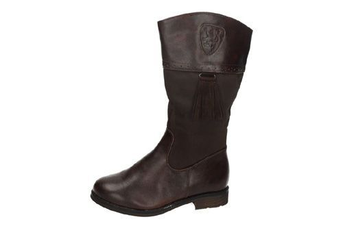 BT1861B-16 BOTAS CON FLECOS color CHOCOLATE