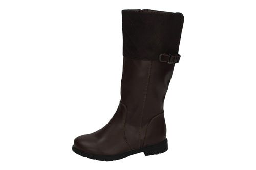 BT2731B-12 BOTAS ALTAS DE NIÑA color MARRÓN