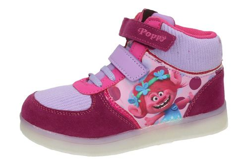 2300002663 BOTINES TROLLS LUCES color MORADO