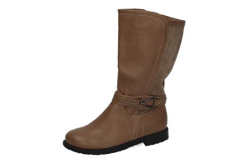 BT2724B-12 BOTAS CAÑA ALTA color TAUPE