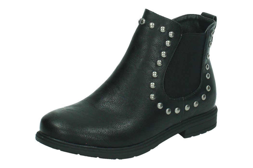 3-BT2813A-12 BOTIN CAMPERO color NEGRO