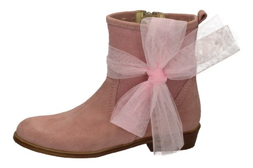 23551 BOTIN COMUNION TUL color ROSA