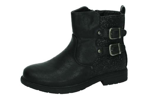 BT2817A-12 BOTINES PURPURINA color NEGRO