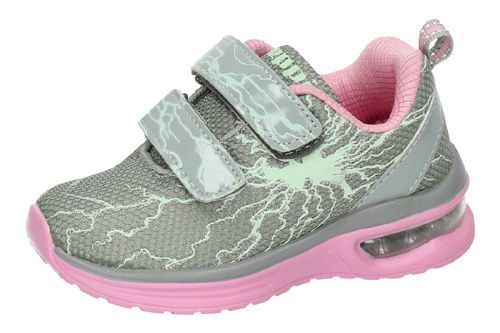 2150931 TENIS BRILLANTES color GRIS-ROSA