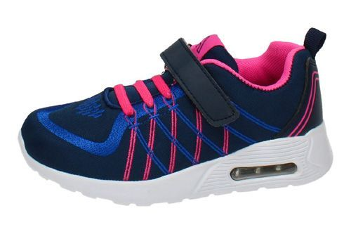 5-2105B-12 ZAPATILLAS AIR AZUL color MARINO-FUXIA