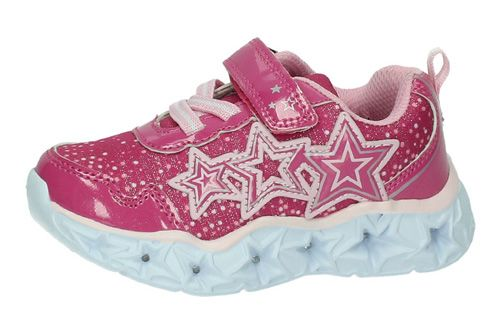 W7069M ZAPATILLAS CON LUCES color FUXIA