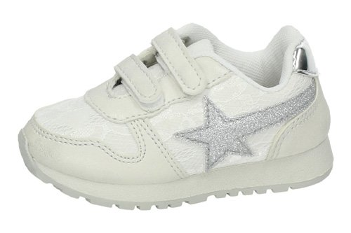 K09-12 ZAPATILLAS PURPURINA color BLANCO