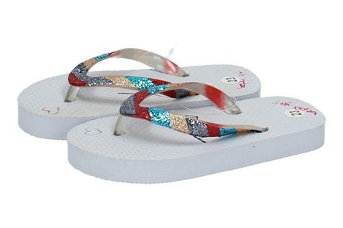 2023900 CHANCLAS I LOVE YOU color BLANCO