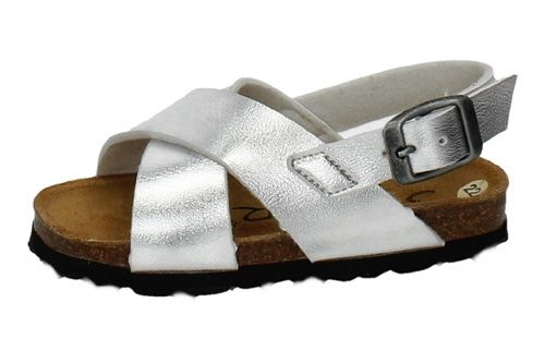 00016TN SANDALIAS NIÑA color PLATA